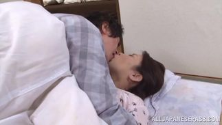 Dazzling Yuuko Kuremachi with biggest tits wants to engulf this boyfriend's pole