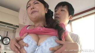 Worshipped busty honey Ayano Murasaki and playmate give each other oral pleasure