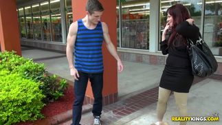 Goluptious Dksana with firm tits likes getting handled by a real paramour